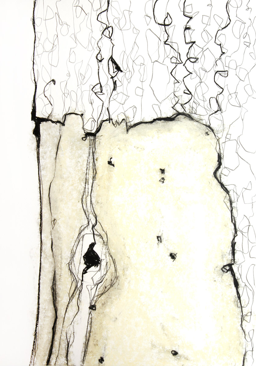 Grauer Wald, 2020, 42cm x 59,4cm